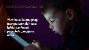 Membaca dalam gelap